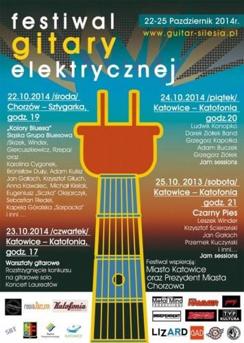 Festiwal Gitary Elektrycznej - Chorzów