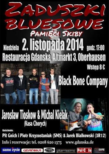 Zaduszki Bluesowe w Oberhausen