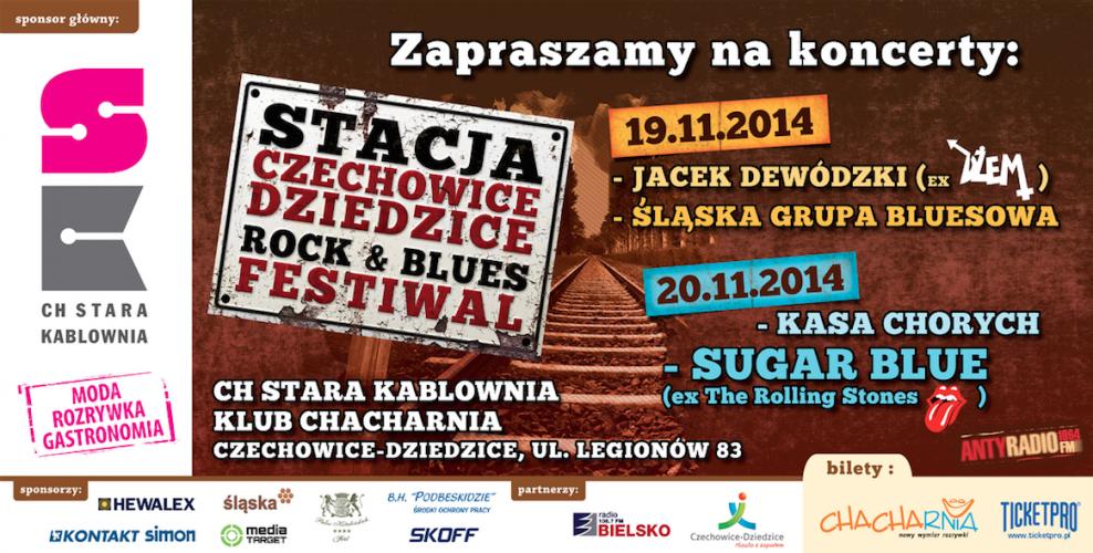 Z Kasą Chorych na 2 festiwalach