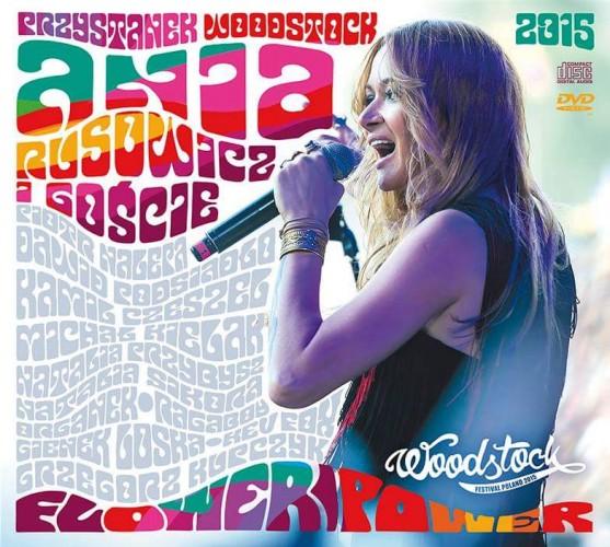 """Ania Rusowicz i goście - """"Flower Power"""" (CD/DVD)"""