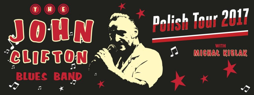 Trasa John Clifton Blues Band - Polish Tour 2017