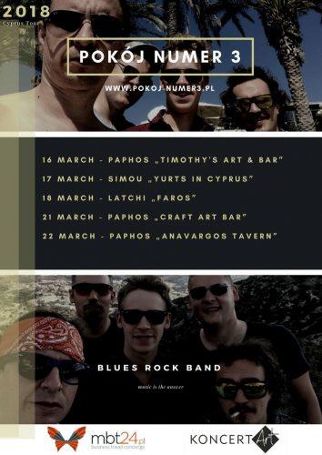 Cypr Spring Tour 2018